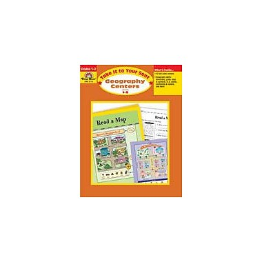 Evan-Moor Educational Publishers Take It to Your Seat Geography Centers,2 Geography Workbook, Grade 1 - Grade 2 [Enhanced eBook]