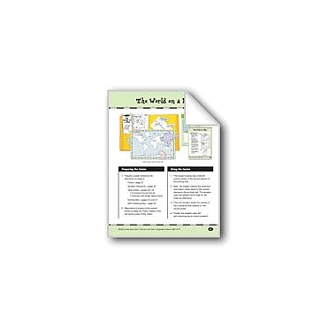 Evan-Moor Educational Publishers The World On A Map Social Studies Workbook, Grade 3 - Grade 4 [eBook]