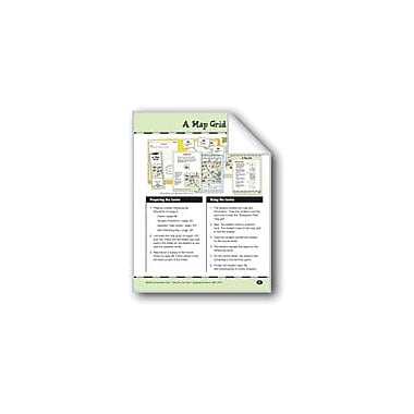 Evan-Moor Educational Publishers A Map Grid Social Studies Workbook, Grade 3 - Grade 4 [eBook]