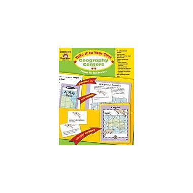 Evan-Moor Educational Publishers Take It to Your Seat Geography Centers-5 Geography Workbook, Grade 4 - Grade 5 [Enhanced eBook]