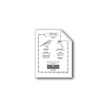 Evan-Moor Educational Publishers Arizona (Map & Facts) Social Studies Workbook, Grade 1 - Grade 6 [eBook]