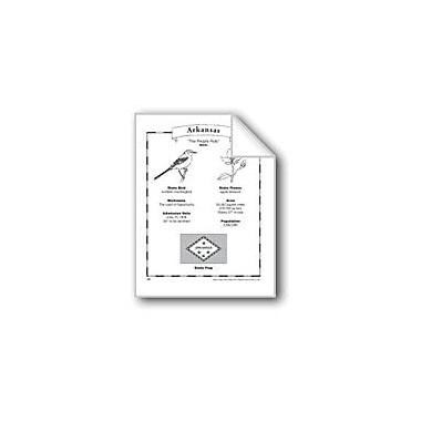 Evan-Moor Educational Publishers Arkansas (Map & Facts) Social Studies Workbook, Grade 1 - Grade 6 [eBook]