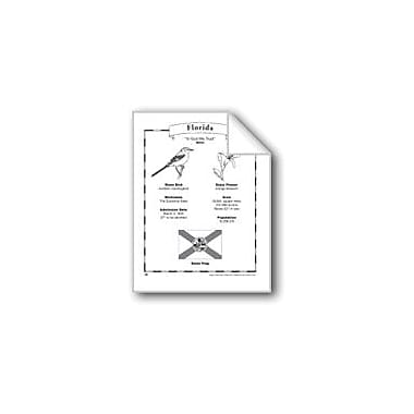 Evan-Moor Educational Publishers Florida (Map & Facts) Social Studies Workbook, Grade 1 - Grade 6 [eBook]
