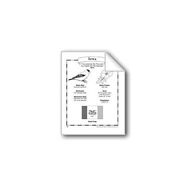 Evan-Moor Educational Publishers Iowa (Map & Facts) Social Studies Workbook, Grade 1 - Grade 6 [eBook]