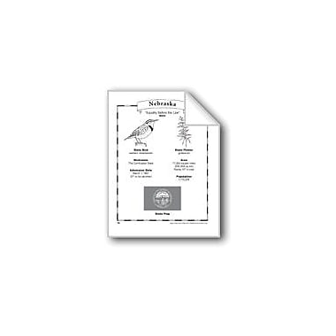 Evan-Moor Educational Publishers Nebraska (Map & Facts) Social Studies Workbook, Grade 1 - Grade 6 [eBook]