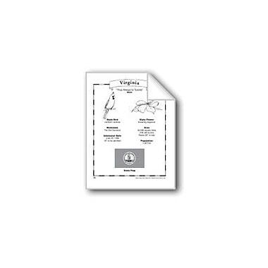 Evan-Moor Educational Publishers Virginia (Map & Facts) Social Studies Workbook, Grade 1 - Grade 6 [eBook]