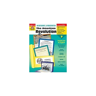 Evan-Moor Educational Publishers History Pockets, the American Revolution History Workbook, Grade 4 - Grade 8 [Enhanced eBook]