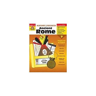 Evan-Moor Educational Publishers History Pockets, Ancient Rome History Workbook, Grade 4 - Grade 8 [Enhanced eBook]