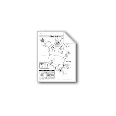 Evan-Moor Educational Publishers Animal Life Maps: North America Geography Workbook, Kindergarten - Grade 2 [eBook]