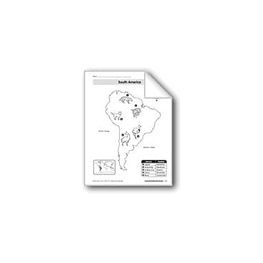 Evan-Moor Educational Publishers Animal Life Maps: South America Geography Workbook, Kindergarten - Grade 2 [eBook]