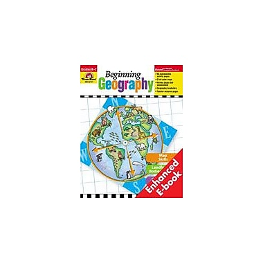 Evan-Moor Educational Publishers Beginning Geography Geography Workbook, Kindergarten - Grade 2 [Enhanced eBook]