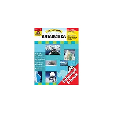 Evan-Moor Educational Publishers The 7 Continents: Antarctica Social Studies Workbook, Grade 4 - Grade 8 [Enhanced eBook]