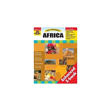 Evan-Moor Educational Publishers The 7 Continents: Africa Social Studies Workbook, Grade 4 - Grade 8 [Enhanced eBook]