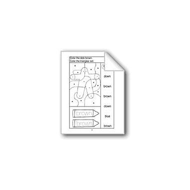 Evan-Moor Educational Publishers Brown, Purple, and White Computers Workbook, Preschool - Kindergarten [eBook]