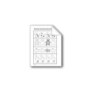 Evan-Moor Educational Publishers Circle the Ones That Are the Same Computers Workbook, Preschool - Kindergarten [eBook]