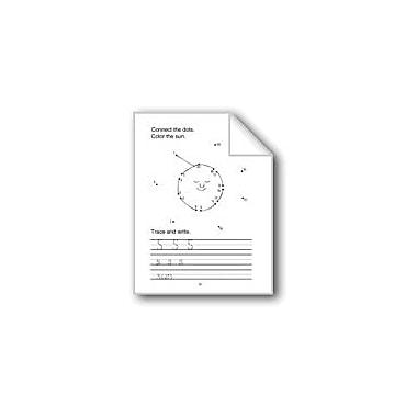 Evan-Moor Educational Publishers Connect the Dots: S, T, U, V, W, X, Y, Z Computers Workbook, Preschool - Kindergarten [eBook]