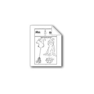 Evan-Moor Educational Publishers Beginning Sounds: M, S, G, H Computers Workbook, Kindergarten - Grade 1 [eBook]