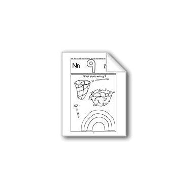Evan-Moor Educational Publishers Beginning Sounds: N, P, T, Z Computers Workbook, Kindergarten - Grade 1 [eBook]