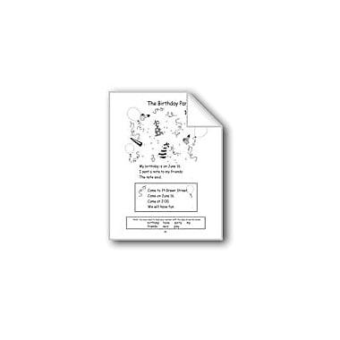 Evan-Moor Educational Publishers Long Vowels: the Birthday Party Computers Workbook, Grade 1 - Grade 2 [eBook]