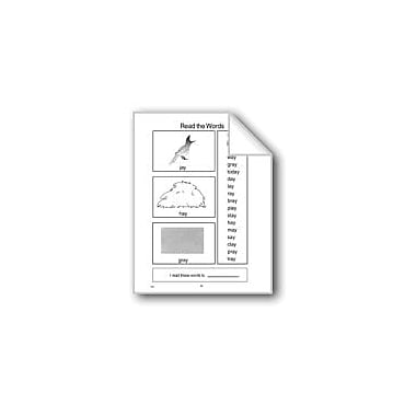 Evan-Moor Educational Publishers Word Families: -Ay Computers Workbook, Grade 1 - Grade 3 [eBook]