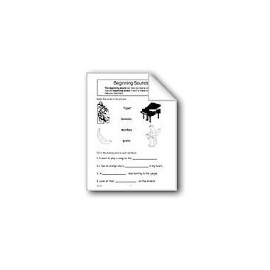 Evan-Moor Educational Publishers Beginning Sounds Computers Workbook, Grade 1 - Grade 3 [eBook]