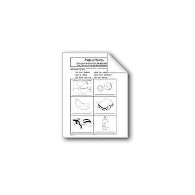 Evan-Moor Educational Publishers Parts of Words Computers Workbook, Grade 1 - Grade 3 [eBook]