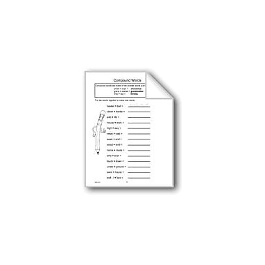 Evan-Moor Educational Publishers Compound Words Computers Workbook, Grade 4 - Grade 6 [eBook]
