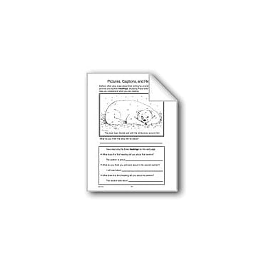 Evan-Moor Educational Publishers Pictures, Captions, and Headings Computers Workbook, Grade 4 - Grade 6 [eBook]