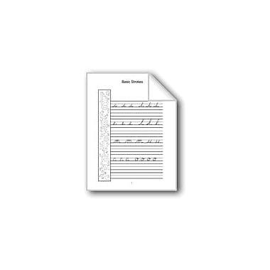 Evan-Moor Educational Publishers Cursive Handwriting: P, Q, R, S, T Computers Workbook, Grade 2 - Grade 6 [eBook]