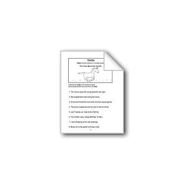 Evan-Moor Educational Publishers Verbs Computers Workbook, Grade 3 - Grade 4 [eBook]
