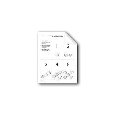 Evan-Moor Educational Publishers Number Cards Homework Computers Workbook, Preschool - Kindergarten [eBook]