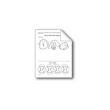 Evan-Moor Educational Publishers Number Homework Computers Workbook, Preschool - Kindergarten [eBook]