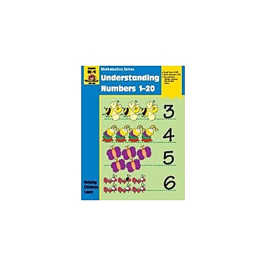 Evan-Moor Educational Publishers Math Activity Books, Understanding Numbers 1,20 Workbook [Enhanced eBook]