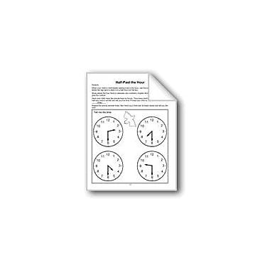 Evan-Moor Educational Publishers Half-Past the Hour Computers Workbook, Grade 1 - Grade 3 [eBook]