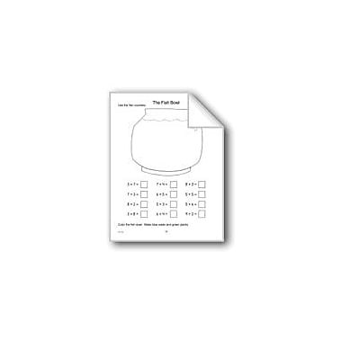 Evan-Moor Educational Publishers The Fish Bowl Math Workbook, Kindergarten - Grade 1 [eBook]