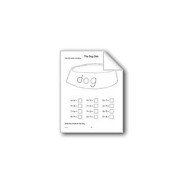 Evan-Moor Educational Publishers Dog Dish Math Workbook, Kindergarten - Grade 1 [eBook]