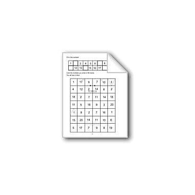 Evan-Moor Educational Publishers Counting 1 to 20 Computers Workbook, Grade 1 - Grade 2 [eBook]