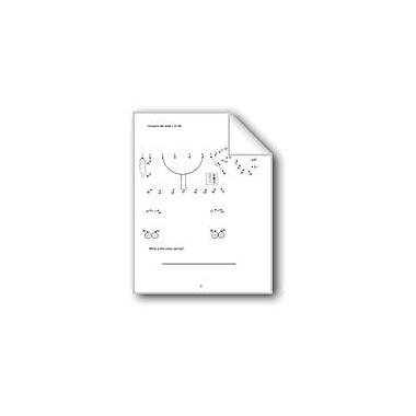 Evan-Moor Educational Publishers Counting 1 to 50 Computers Workbook, Grade 1 - Grade 2 [eBook]