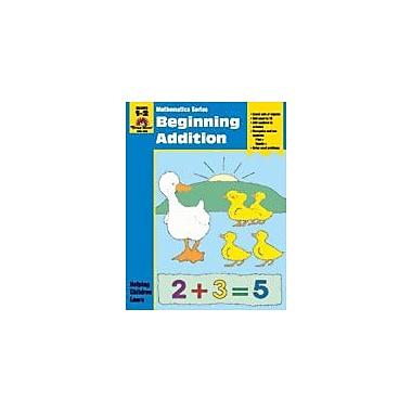 Evan-Moor Educational Publishers Math Activity Books, Beginning Addition Math Workbook, Grade 1 - Grade 2 [Enhanced eBook]