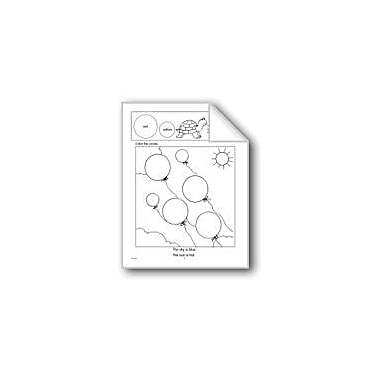 Evan-Moor Educational Publishers Circles, Squares, and Triangles Math Workbook, Kindergarten - Grade 2 [eBook]