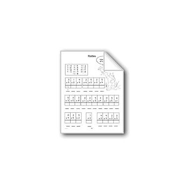 Evan-Moor Educational Publishers Multiplication Riddles Math Workbook, Grade 2 - Grade 3 [eBook]