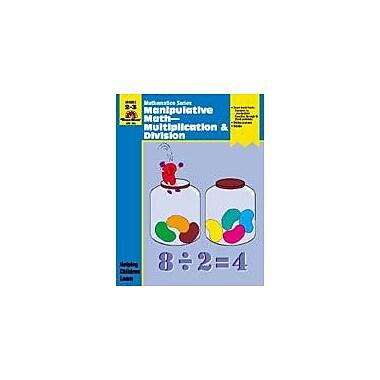 Evan-Moor Educational Publishers Manipulative Math-Multiply & Divide Math Workbook, Grade 2 - Grade 3 [Enhanced eBook]