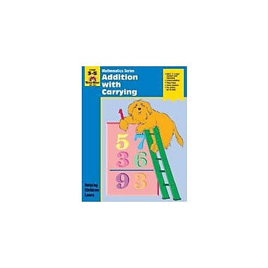 Evan-Moor Educational Publishers Math Activity Books, Addition With Carrying Math Workbook, Grade 3 - Grade 5 [Enhanced eBook]