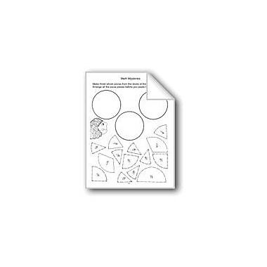 Evan-Moor Educational Publishers Math Mysteries: Fractions Computers Workbook, Grade 3 - Grade 5 [eBook]