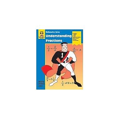 Evan-Moor Educational Publishers Math Activity Books, Understanding Fractions Math Workbook, Grade 3 - Grade 5 [Enhanced eBook]
