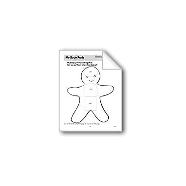 Evan-Moor Educational Publishers My Body Parts (Gingerbread Boy) Science Workbook, Preschool - Grade 1 [eBook]