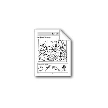 Evan-Moor Educational Publishers Some Animals Eat Plants/Meat Science Workbook, Preschool - Grade 1 [eBook]