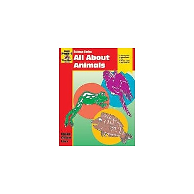Evan-Moor Educational Publishers Science Activity Books, All About Animals Workbook, Preschool - Grade 1 [Enhanced eBook]