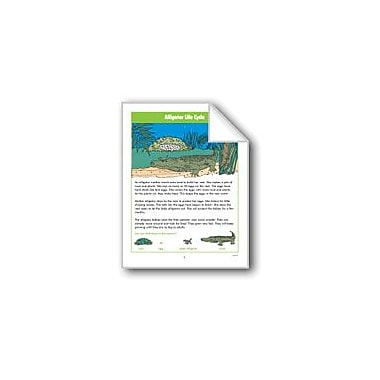 Evan-Moor Educational Publishers Alligator Life Cycle Computers Workbook, Grade 2 - Grade 4 [eBook]