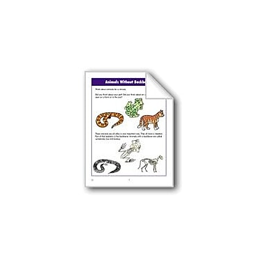 Evan-Moor Educational Publishers Animals Without Backbones Computers Workbook, Grade 2 - Grade 3 [eBook]